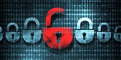 Security concept Lock on digital screen, illustration.png